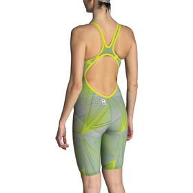 arena R-EVO ONE Costume Intero A Pantaloncino LTD Edition 2019 Donna, grigio/verde